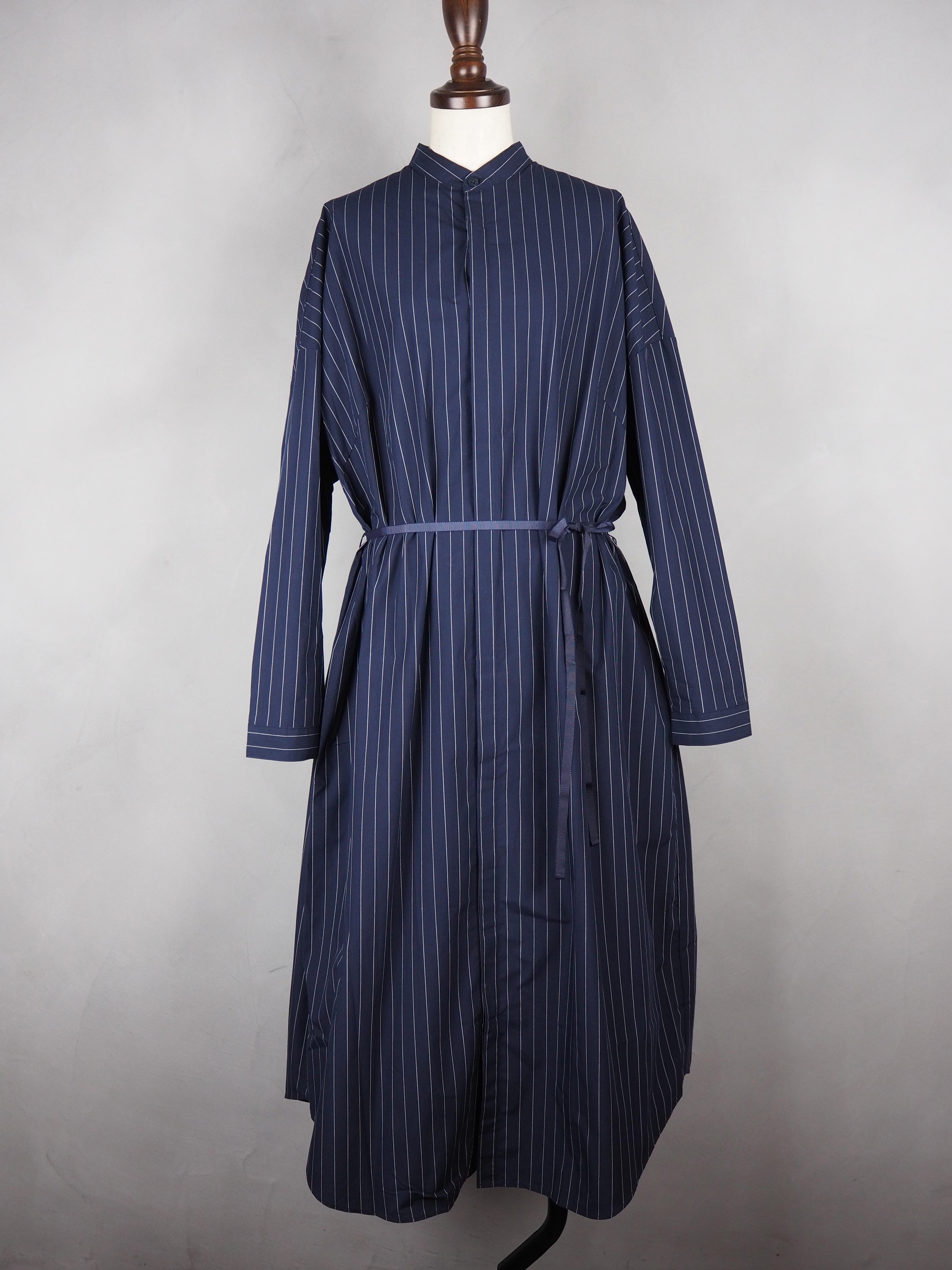 【MANON】BAND COLLAR SHIRT COAT