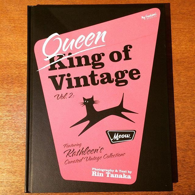 ファッションの本「Queen Of Vintage Vol.2 Meow (Americana Fashions 1920s-1950s)/田中凛太郎 - 画像1