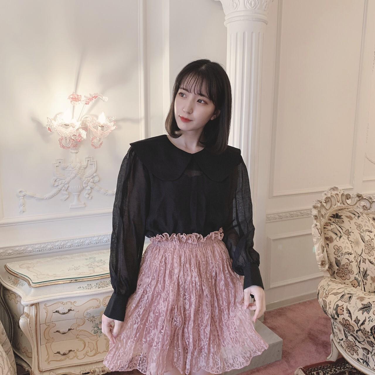 【meltie】girly lace skirt
