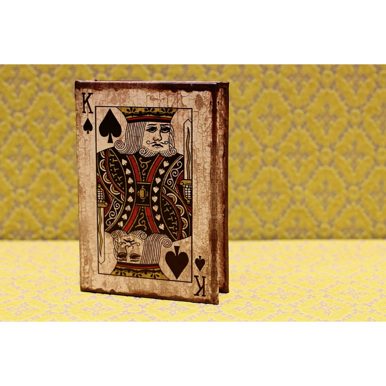 Bookボックス10【king♠】/シークレットボックス/アンティーク雑貨/浜松雑貨屋C0pernicus