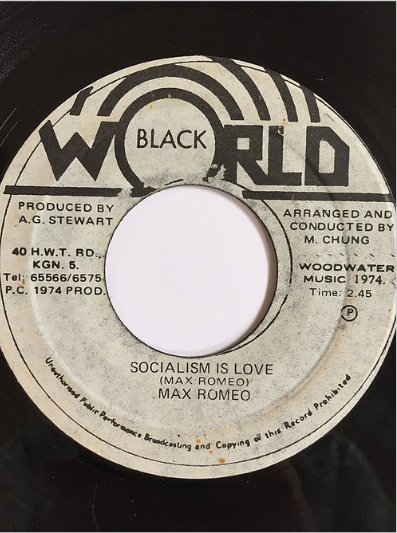 Max Romeo(マックスロメオ) - Socialism Is Love【7inch】