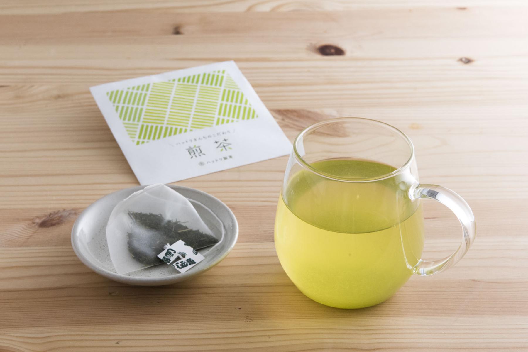 丸合ハットリ製茶 / こだわり煎茶(ティーバッグ)8袋セット