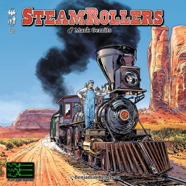 「スチームローラーズ」(SteamRollers) 日本語和訳ルール付き