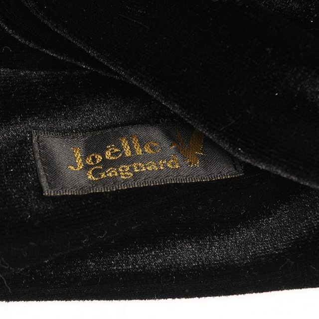 Joe18AW-30 buckle turban -velor