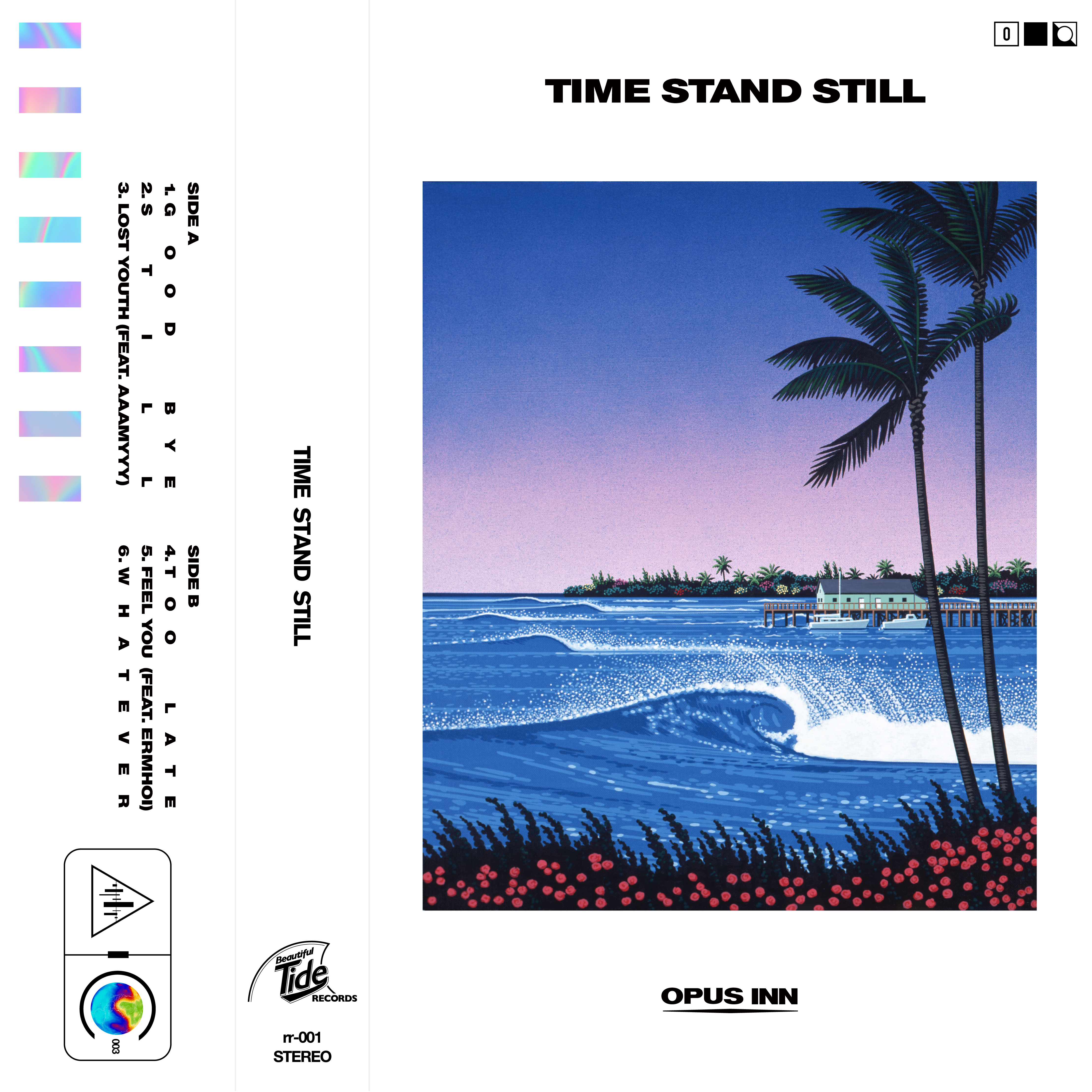 【CD】Opus Inn 3rd EP『Time Stand Still』
