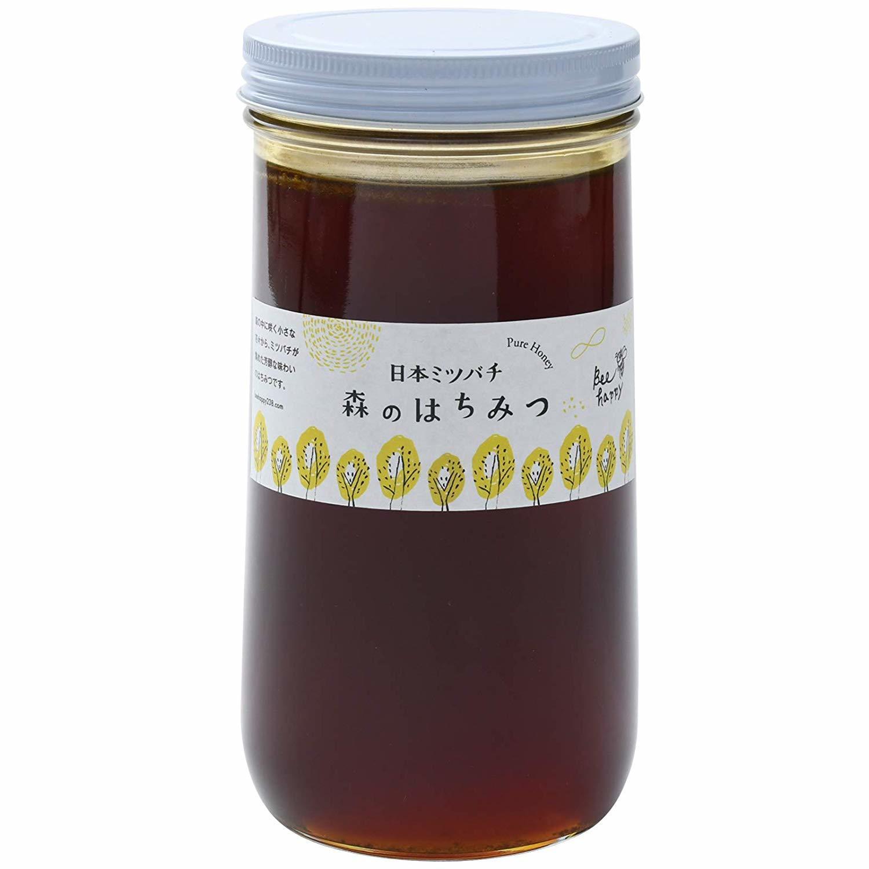 森のはちみつ 日本ミツバチの蜂蜜     1kg