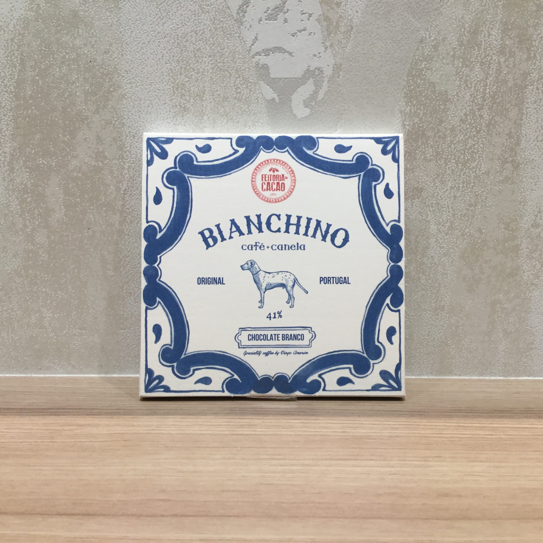 【Feitoria do Cacao/フェイトリア・ド・カカオ】ホワイト41% ビアンキーノ(コーヒー&シナモン)