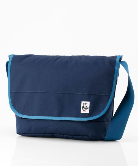 CHUMS (チャムス) Eco CHUMS Messenger Bag (エコチャムスメッセンジャーバッグ) Navy (ネイビー) CH60-2470