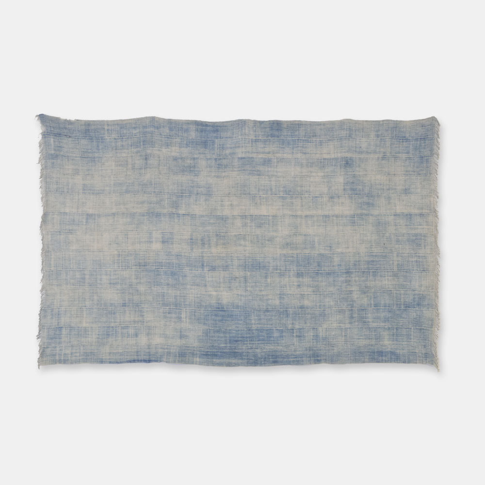 ブルキナファソ モシ族 ヴィンテージの藍染め布 古布 SLI007