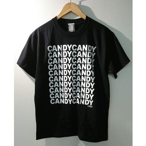 FIVE CANDY Tシャツ ブラック×ホワイト