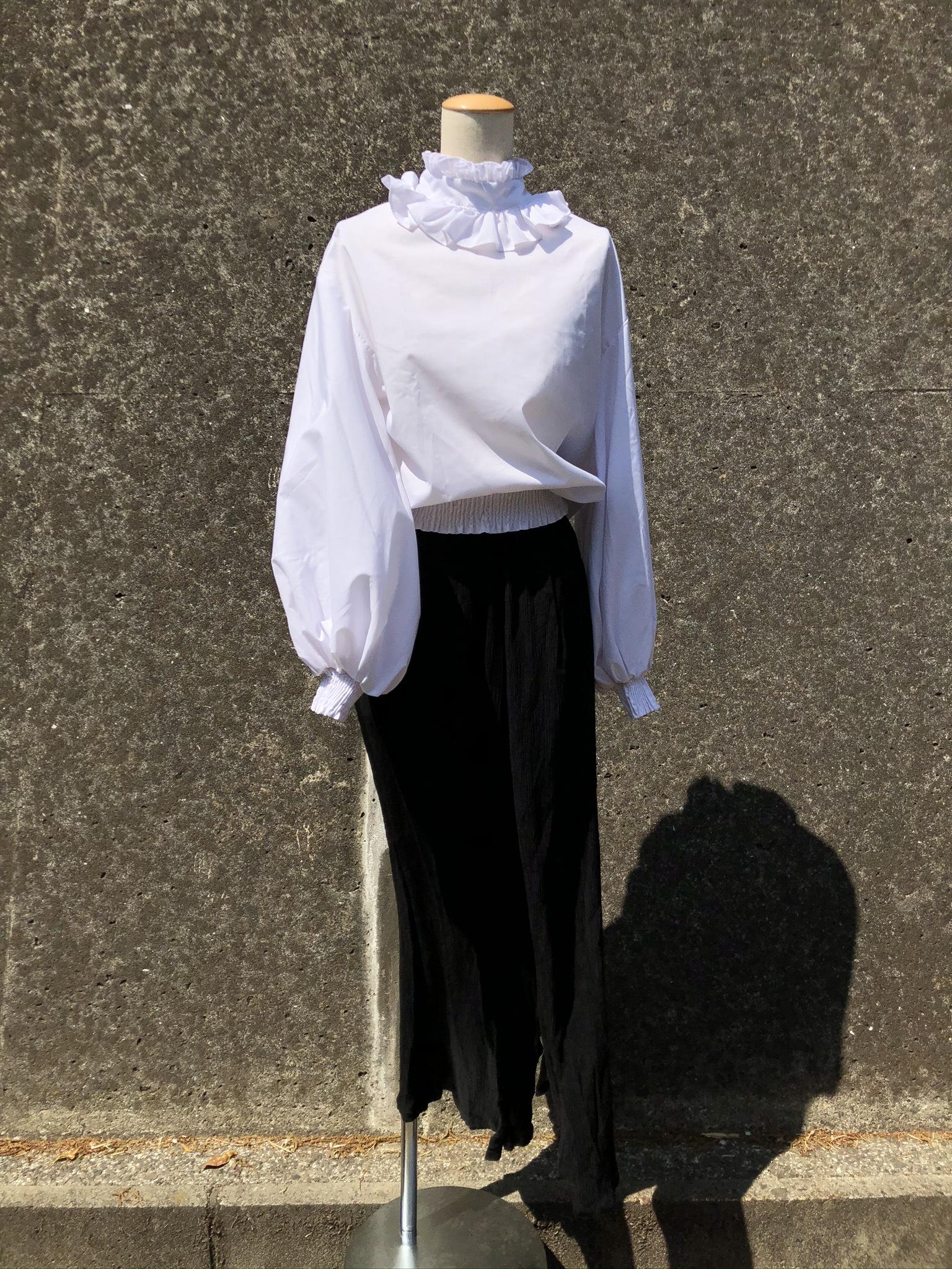 rayon slit skirt