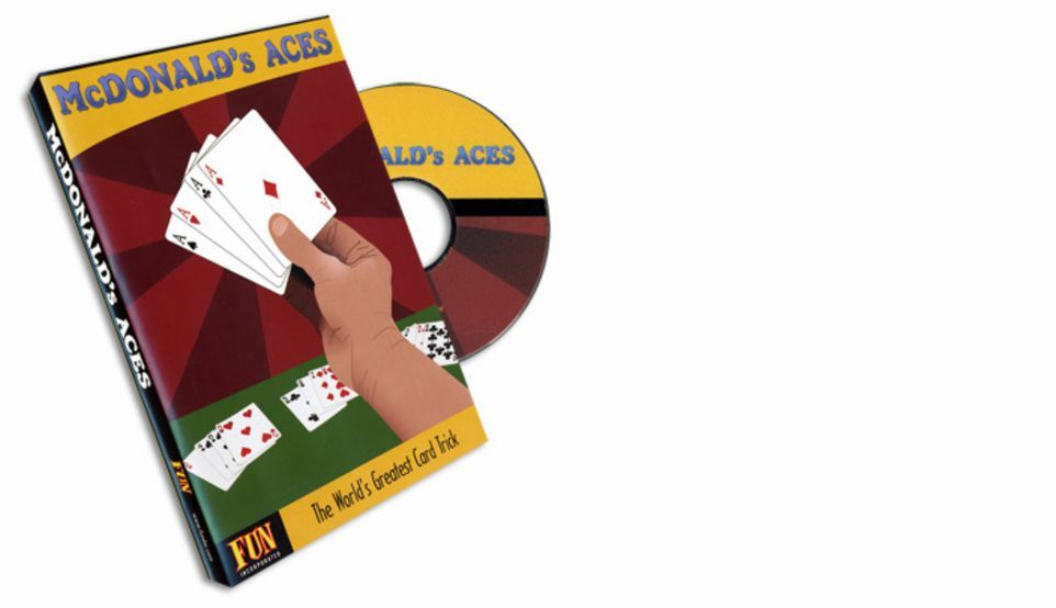 マクドナルドのフォーエース ギミックカード付属で即できる!