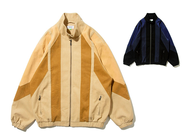 DEMARCOLAB|CORD. PANEL HARRINGTON JKT