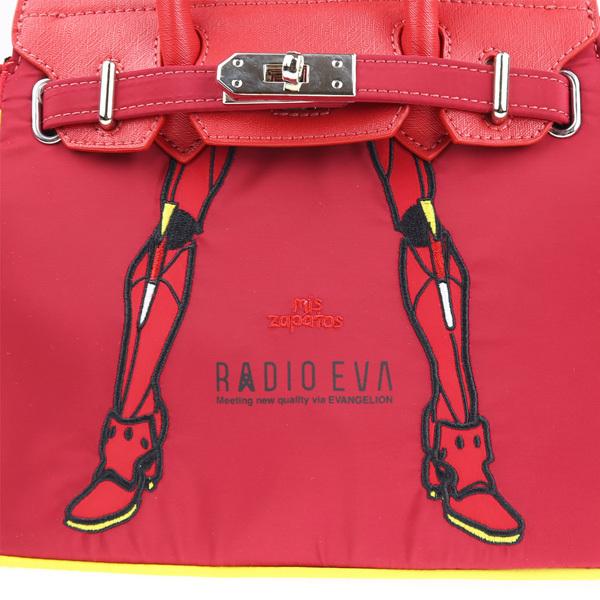 RADIO EVA 698 EVANGELION Small Boston Bag by mis zapatos/レッド(2号機)/ EVANGELION エヴァンゲリオン