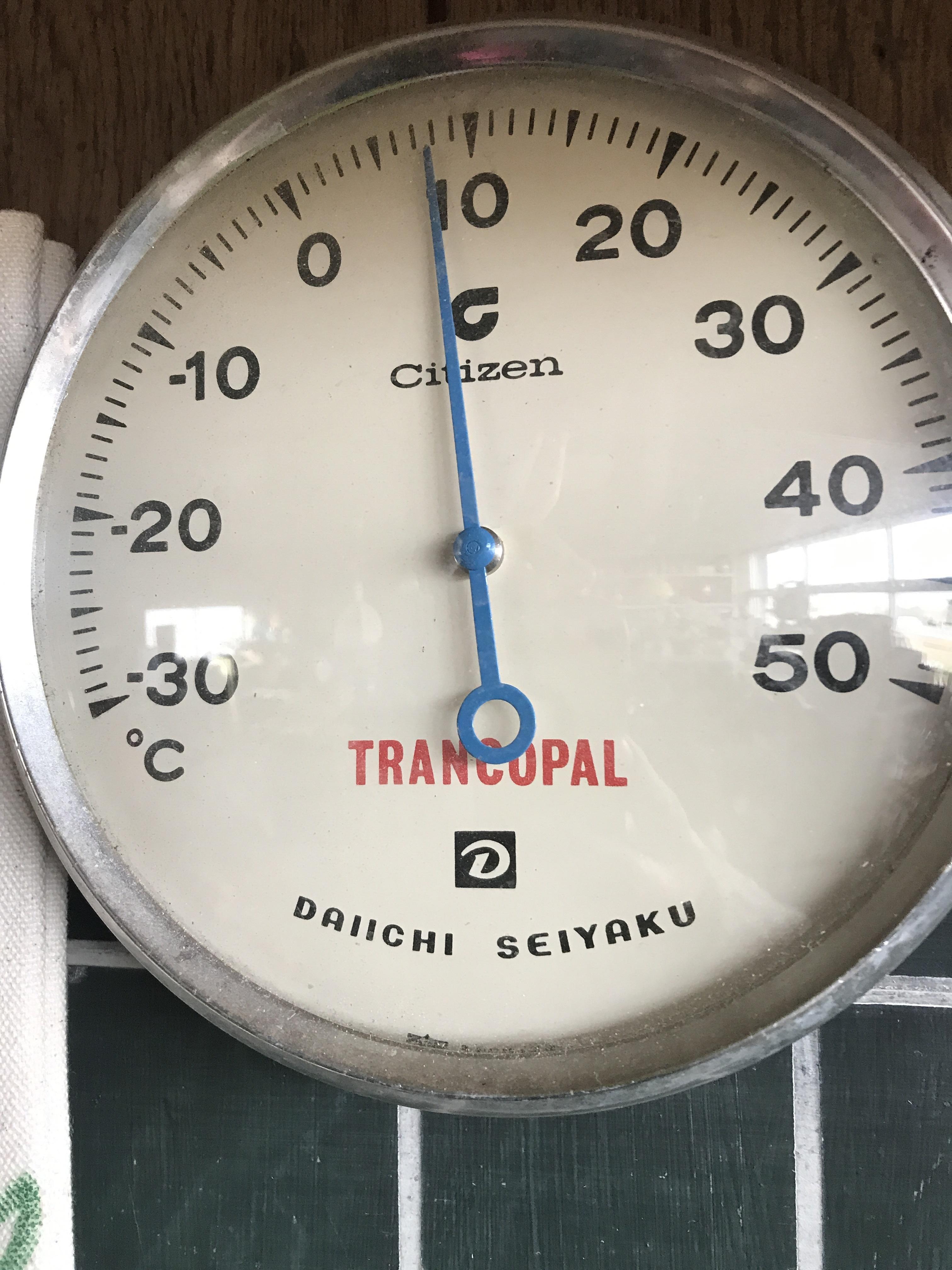 レトロ ジャンク温度計