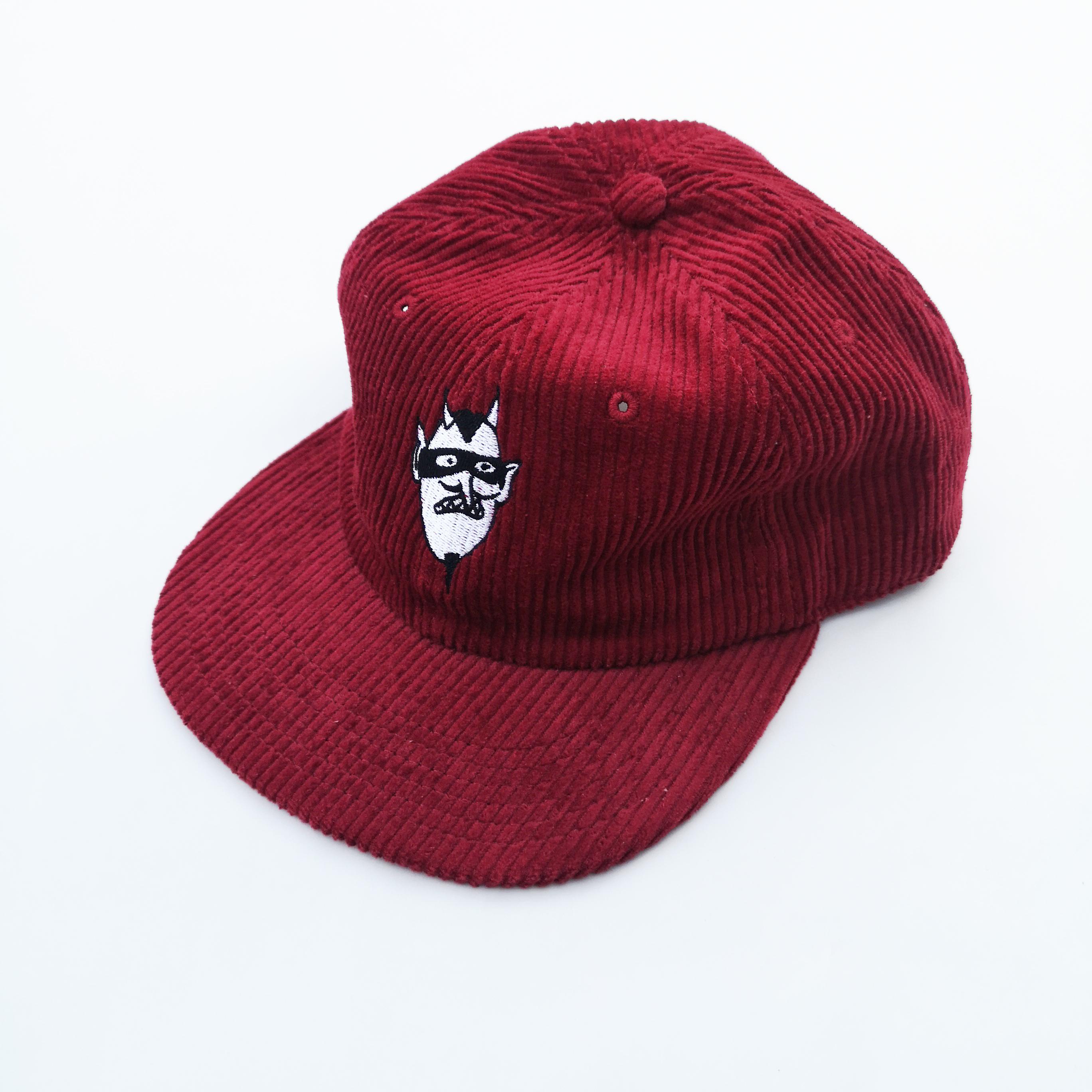 PRANK DEVIL CORDUROY CAP