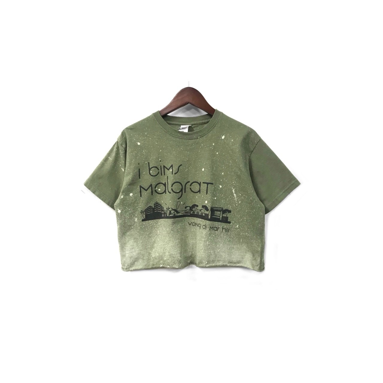 USED - Remake Print Tee ¥6000+tax