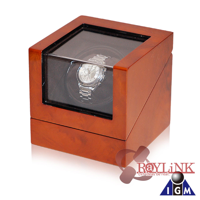 IGIMI バール調木目 1本用ウォッチワインダー