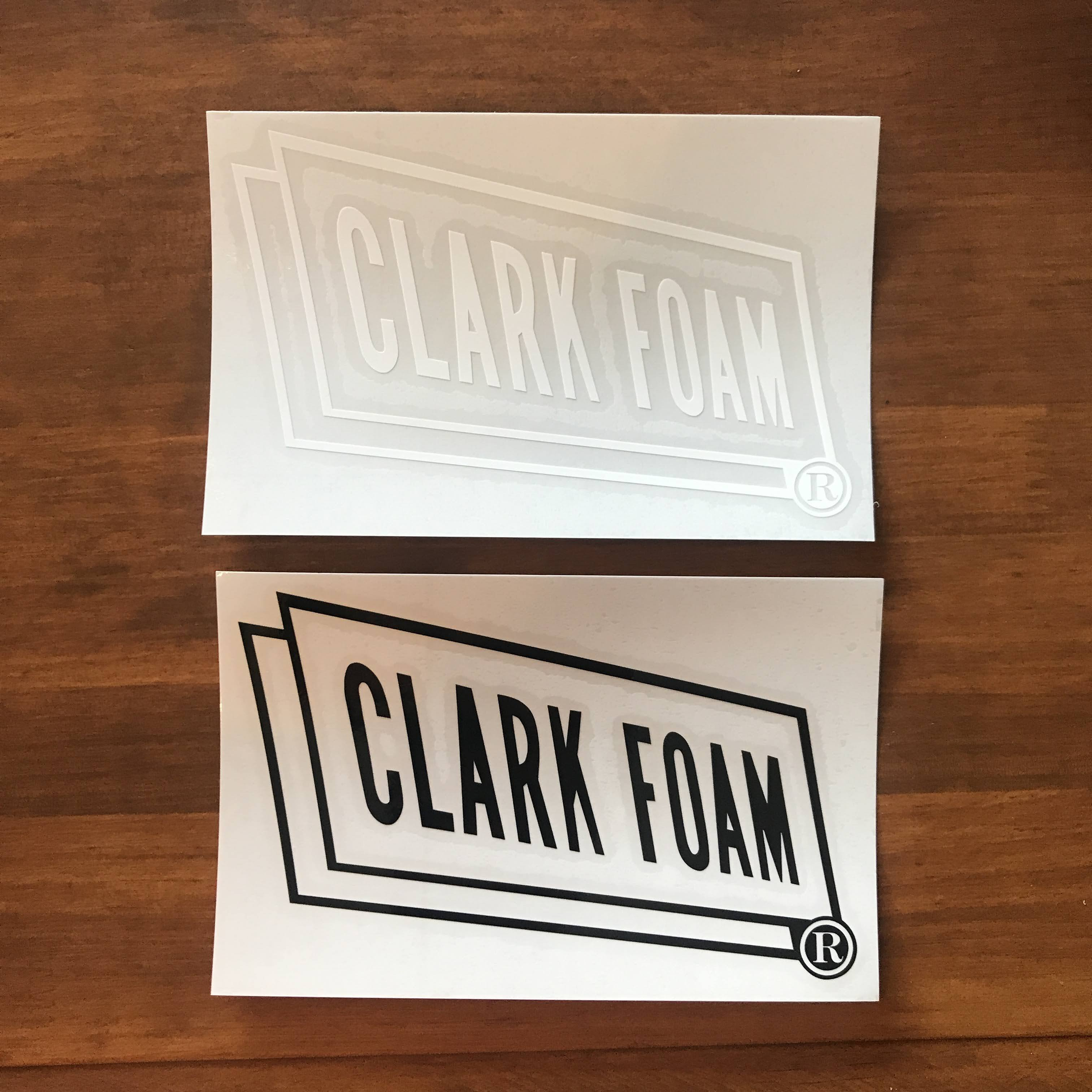 【CLARK FOAM】クラークフォーム カッティングステッカー 大