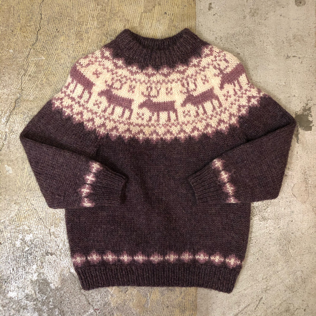 Snowflake Sweater ¥6,800+tax
