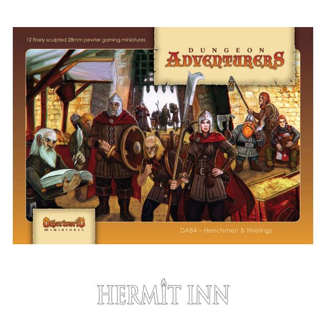 従者と傭兵たち(12体ボックスセット) - 画像1