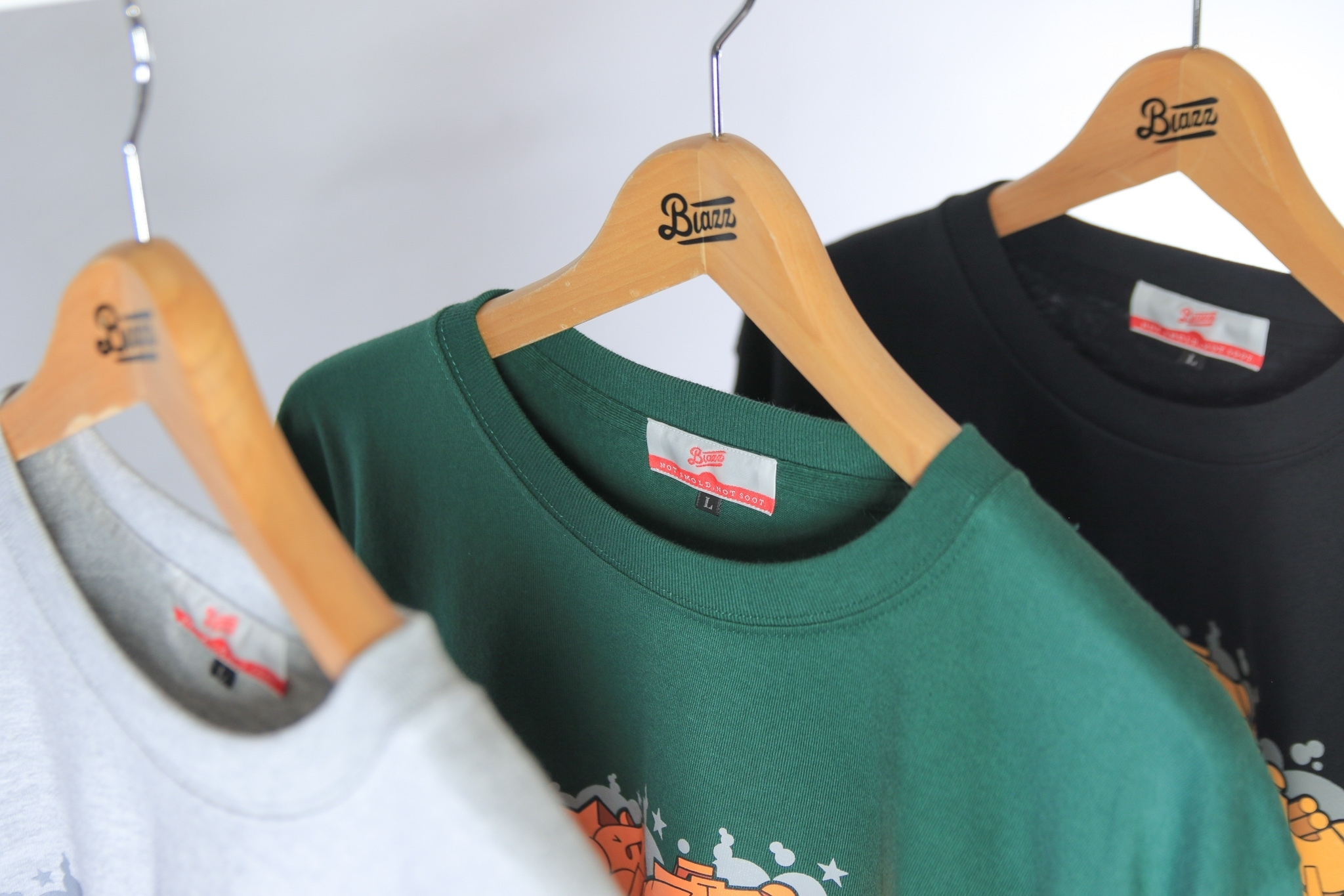 ITALY BLAZZ by Kreso World Wide COLLAB 00 L/S TEE [BLACK]