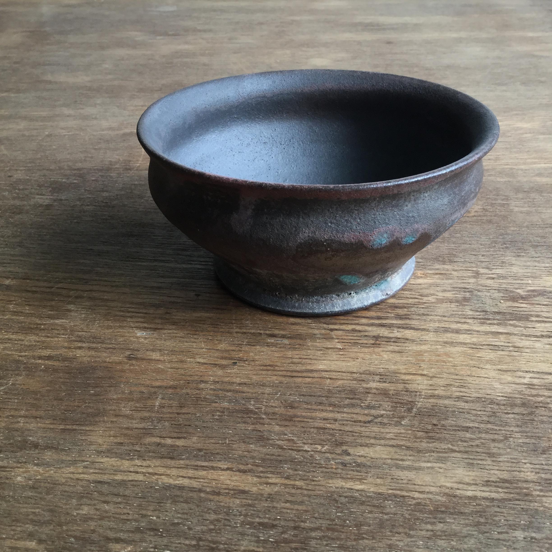 【菊地亨】 碗(赤土) 400 φ13㎝×h6㎝ 21 - 画像1