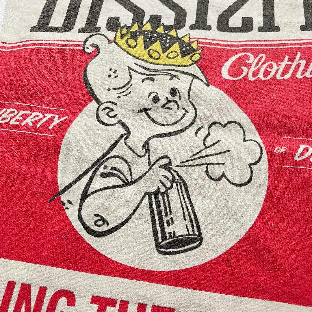 DISSIZIT / King Of Spray Tee - White