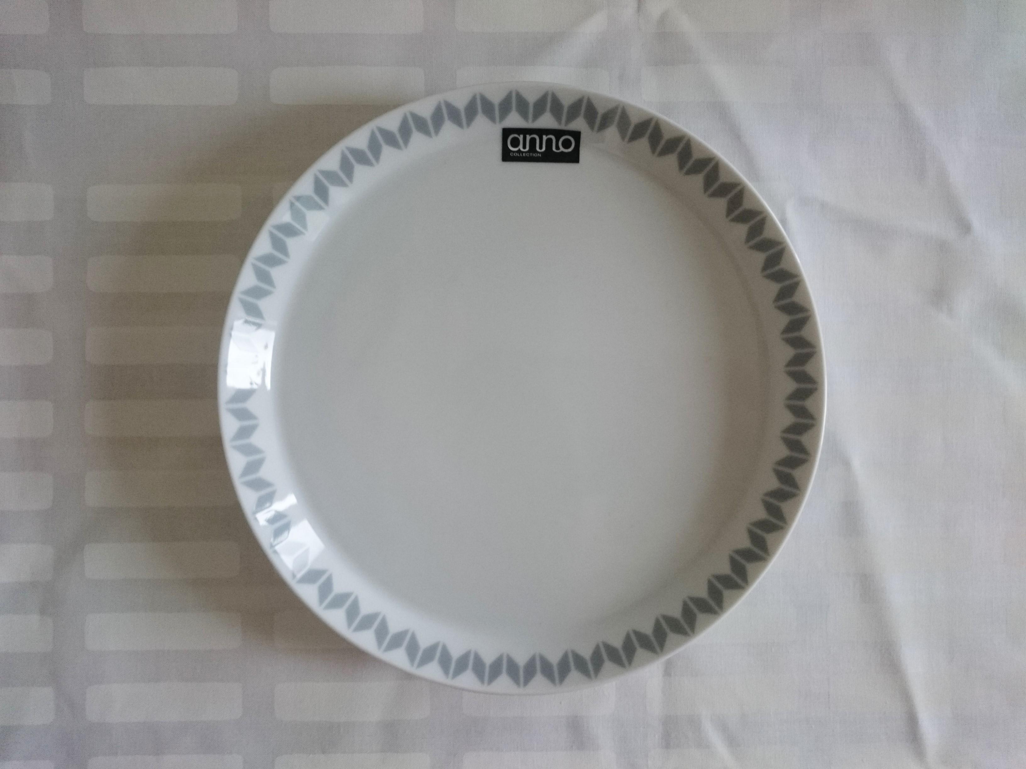 プレート / anno / 北欧モノトーン プレート (21.5cm)