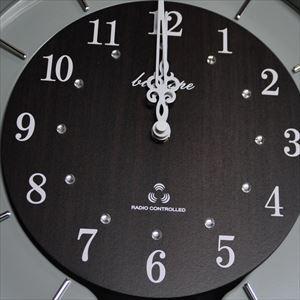 振り子時計 電波時計 電波スロー振り子時計 BIO-001 板尾工芸オリジナル - 画像3