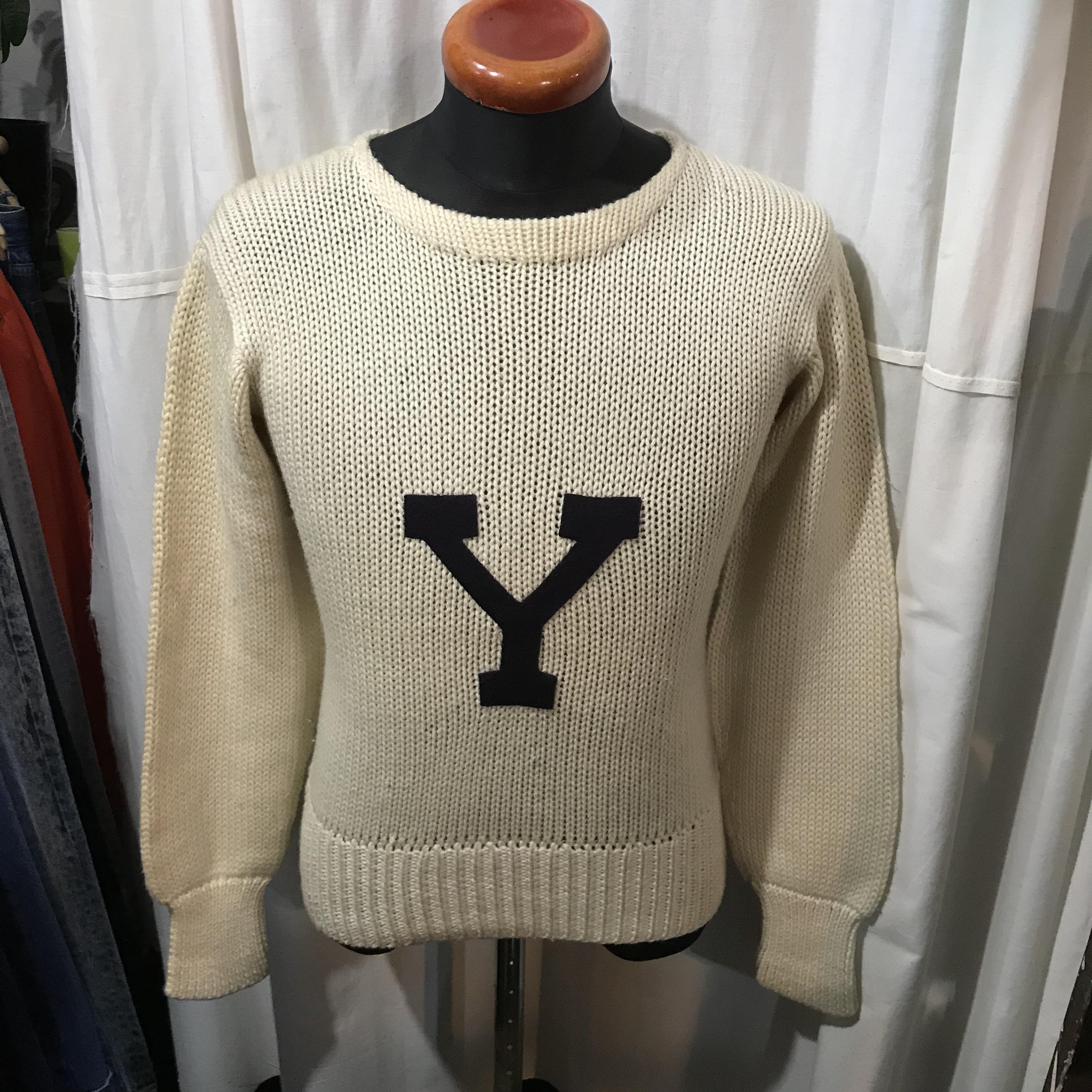 50's vintage Princeton ウールセーター メンズM
