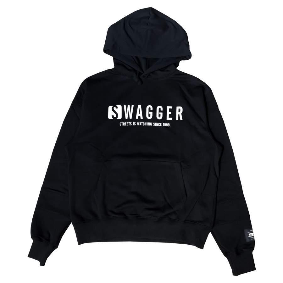 SWAGGER Logo Hoodie BLACK