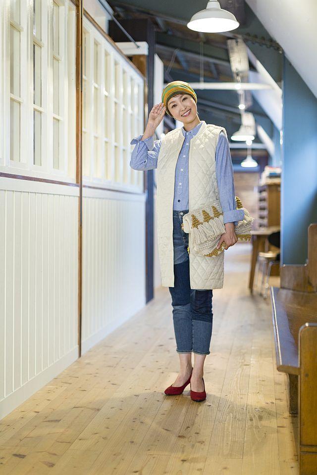 【送料無料】こころが軽くなるニット帽子amuamu|新潟の老舗ニットメーカーが考案した抗がん治療中の脱毛ストレスを軽減する機能性と豊富なデザイン NB-6529|スウェディッシュガール - 画像3