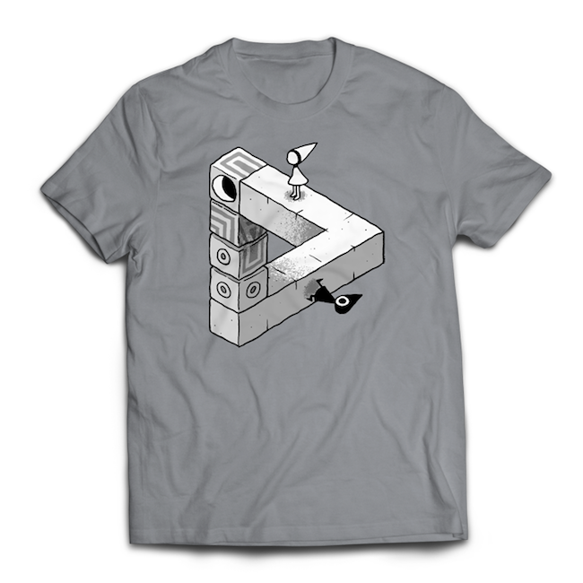 MONUMENT VALLEY / モニュメント・バレー トライアングルTシャツ   / iam8bit