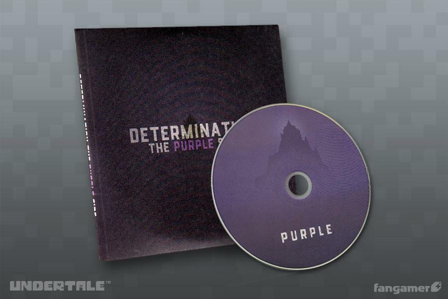 「UNDERTALE」カバーアルバム — Determination: The Purple Side(海外版) / UNDERTALE ( アンダーテイル )