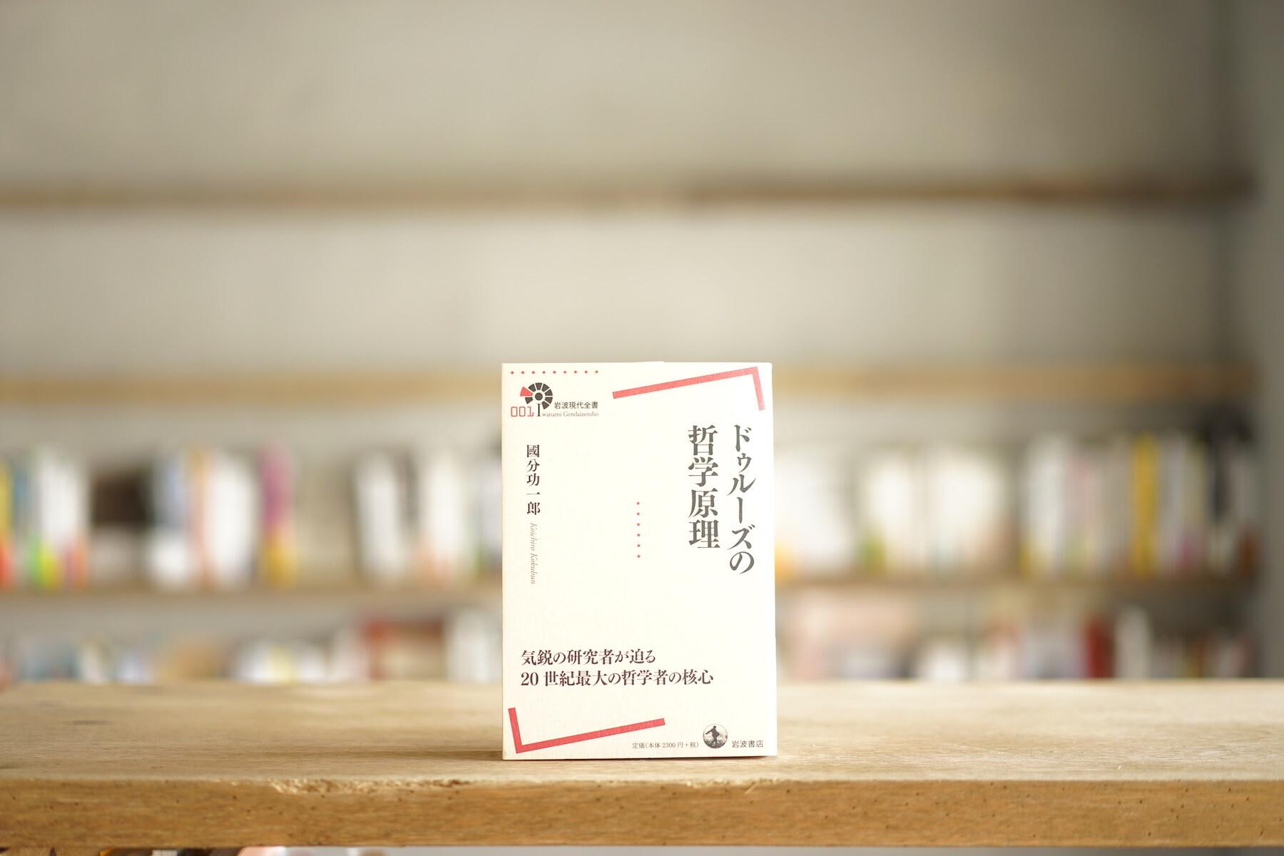 國分功一郎 『ドゥルーズの哲学原理』 (岩波書店、2013)
