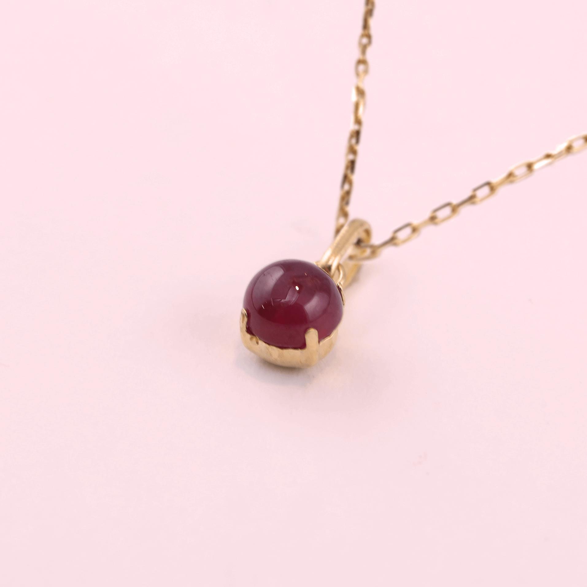 Pendant Head - Ruby / Sapphire / Emerald