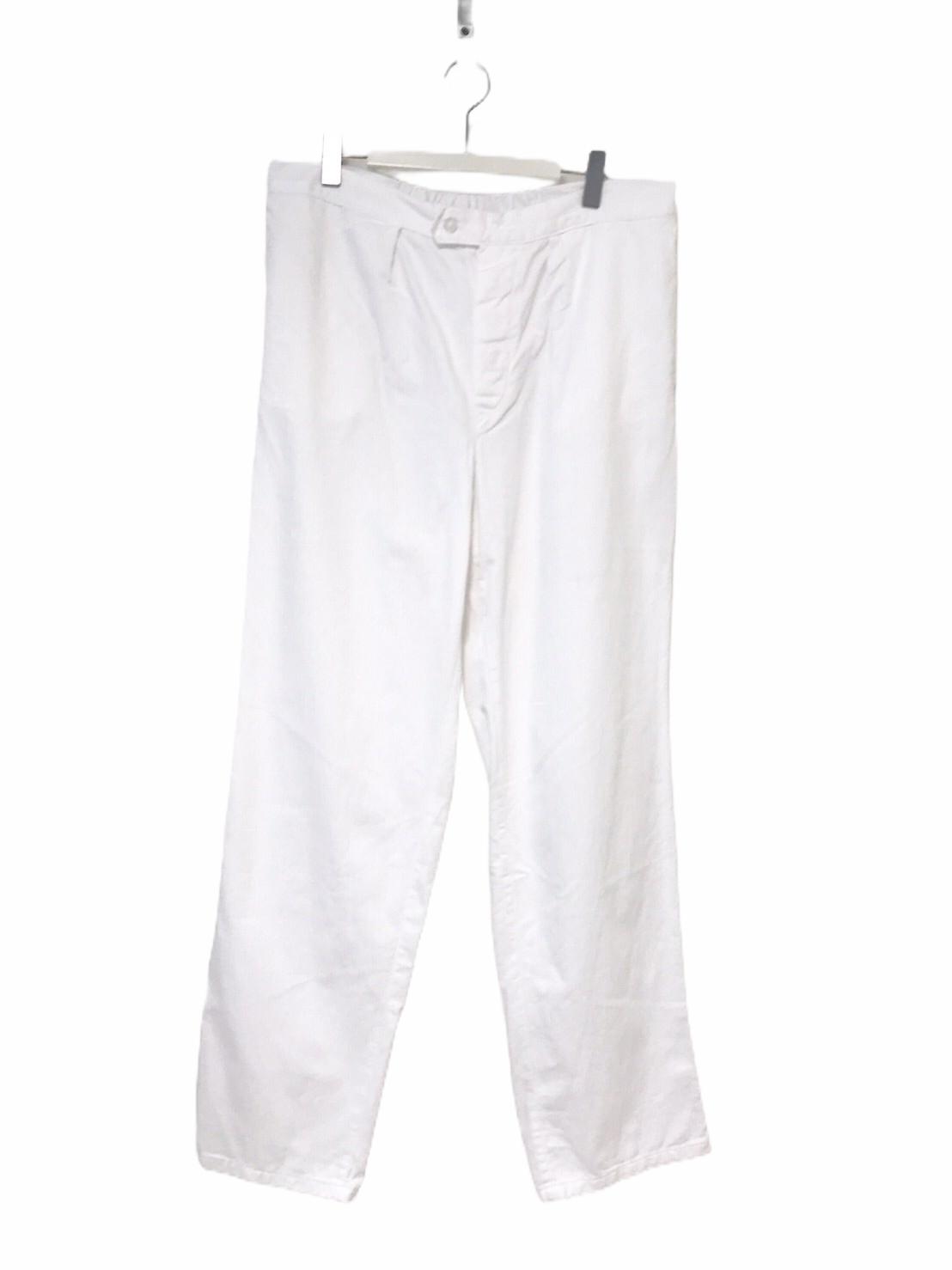 """Dead Stock"" Czech Army Pants White"