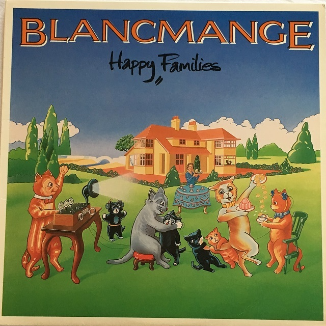 【LP・米盤】Blancmange / Happy Families
