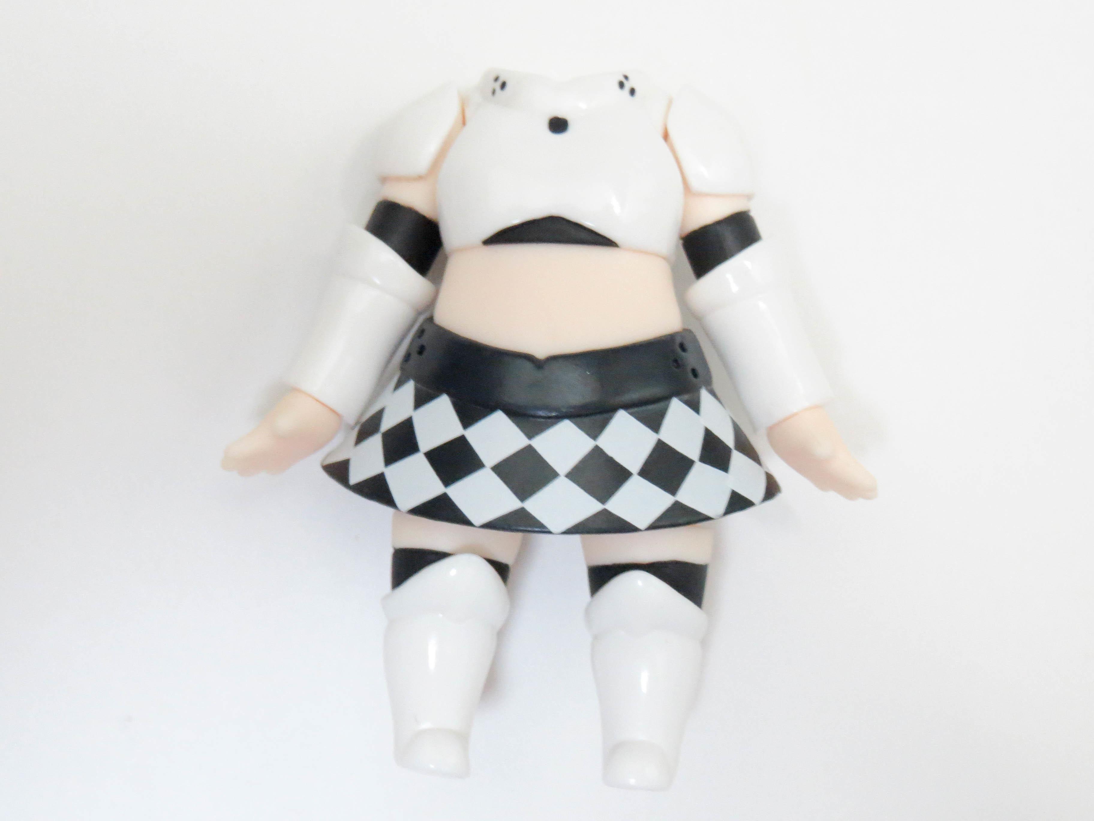 【SALE】【406a】 ミス・モノクローム  体パーツ 私服 ねんどろいど