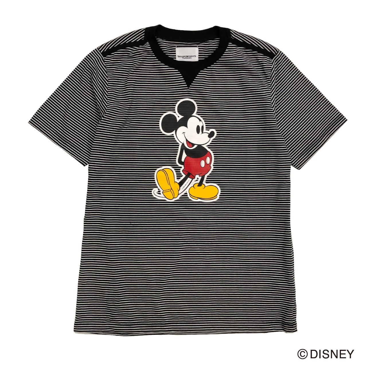 sc.0097aSS20 Mickey Mouse crew neck s/s striped tee. (3mm × 7mm)