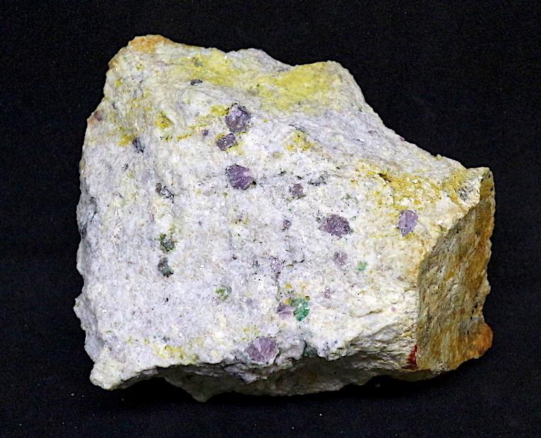 カリフォルア産 コランダム ルビー サファイア 原石 自主採掘品 131,9g RB003