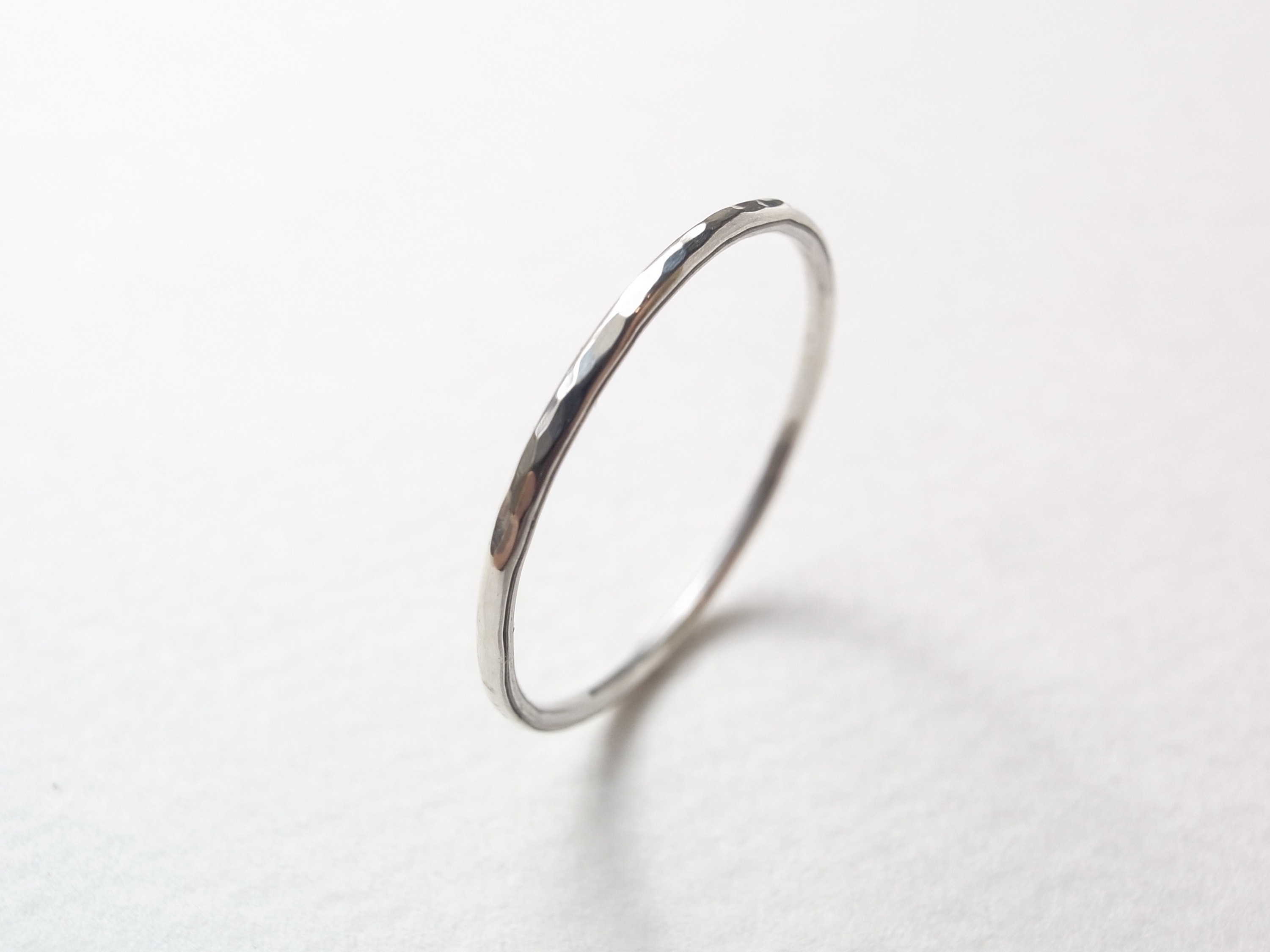 silver950/tsuchime ring