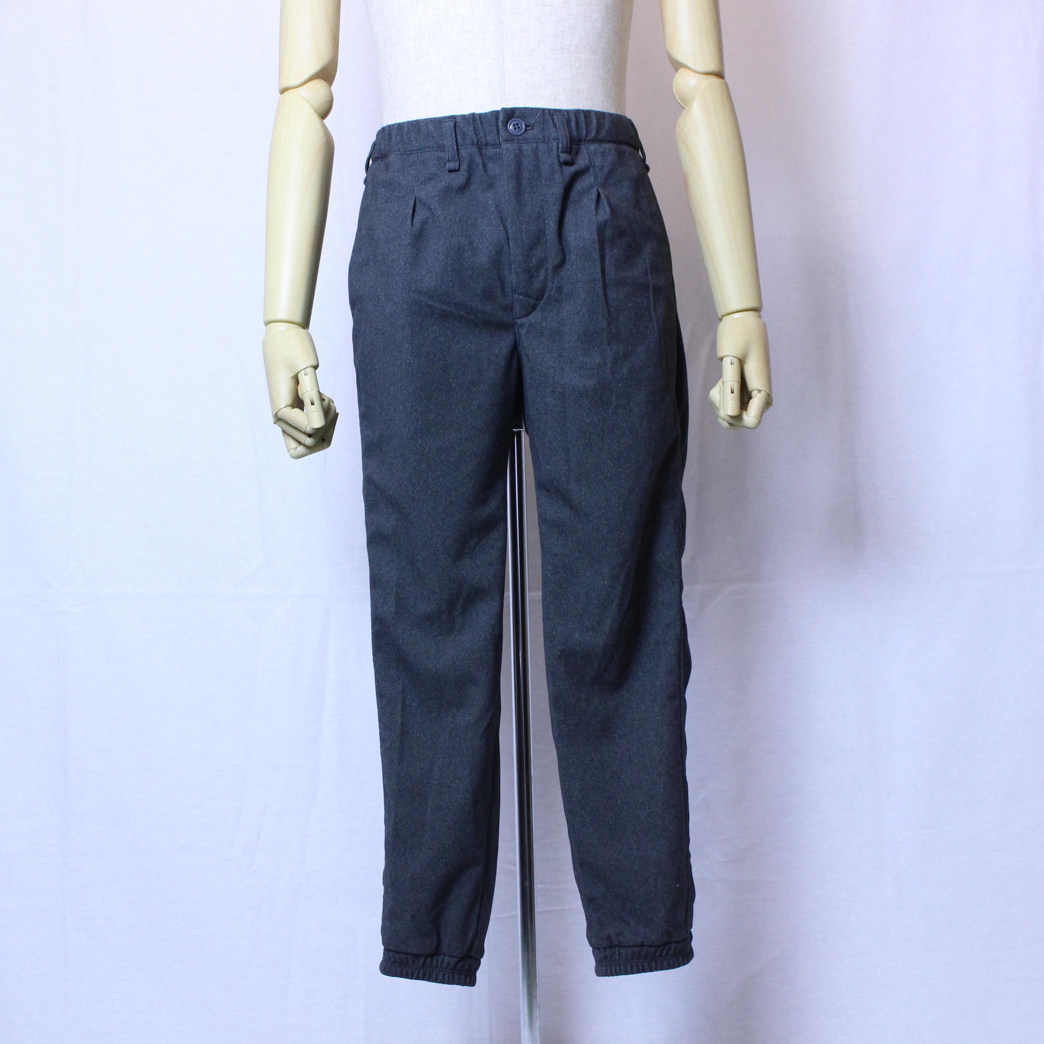 "CURLY(カーリー) ""CLOUDY RIB TROUSERS"""