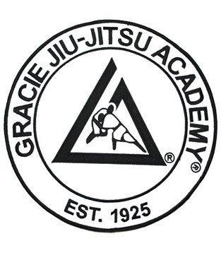 グレイシー・アカデミーオフィシャル刺繍ワッペン ホワイト
