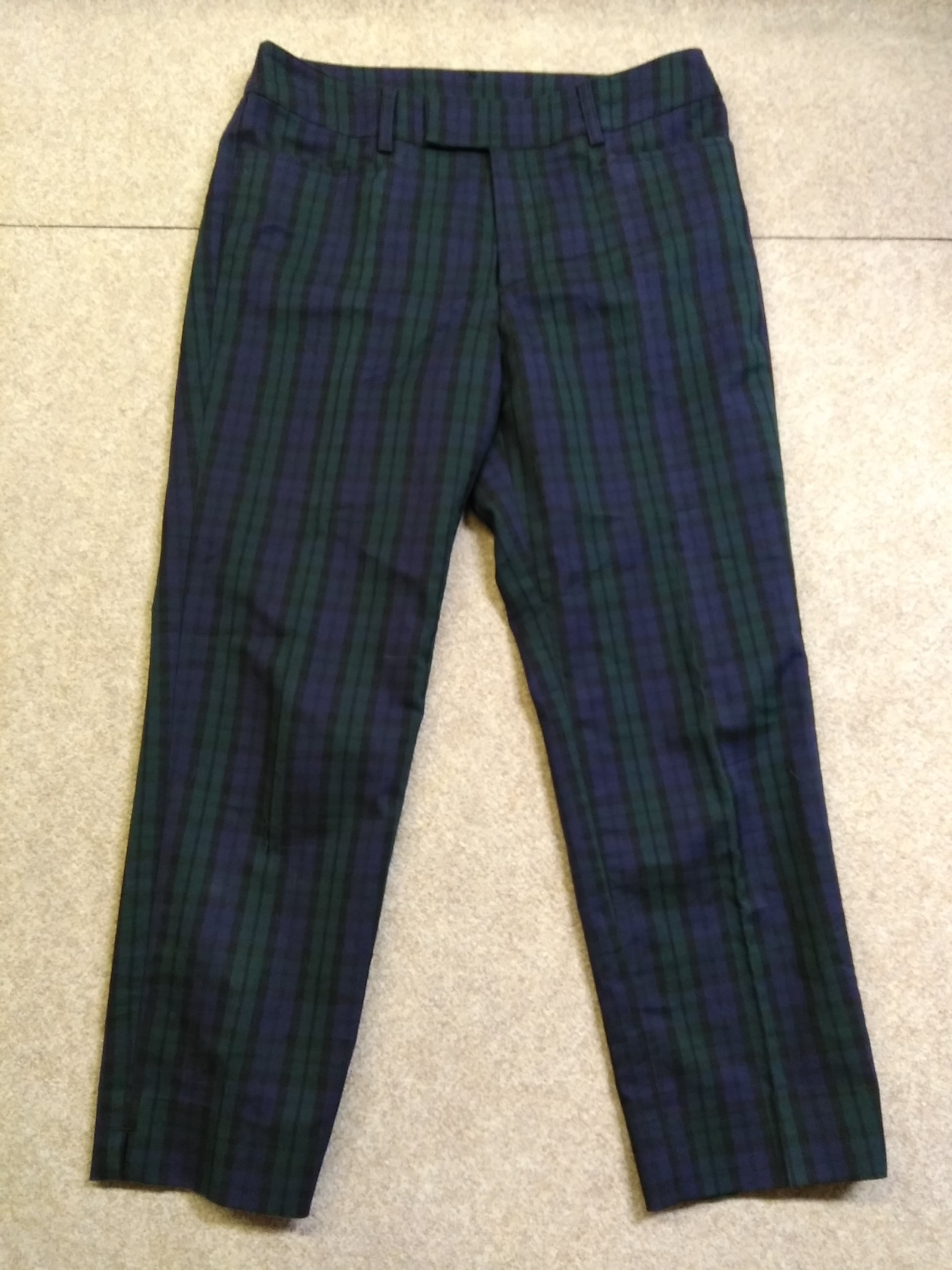ジュンコシマダ パート2 ブラックウォッチ パンツ W67 u1173a