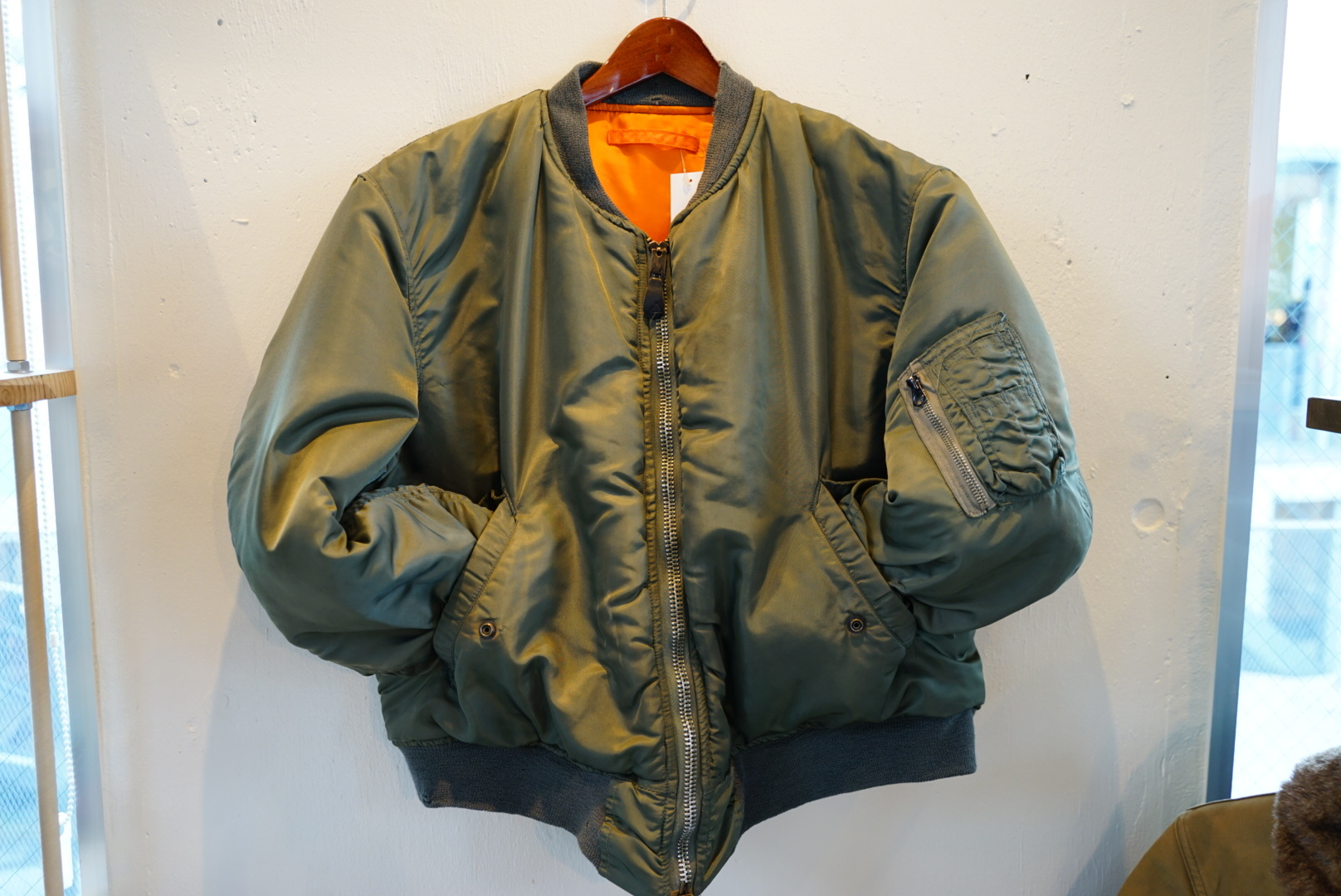 ARMY MA-1 ブルゾン ジャケット