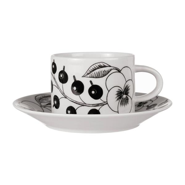 ARABIA Paratiisi コーヒーカップ&ソーサー ブラック