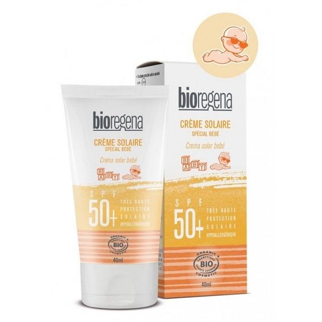 【bioregena/ビオレジェナ】クリームソレイユベビーSPF50+ 40ml