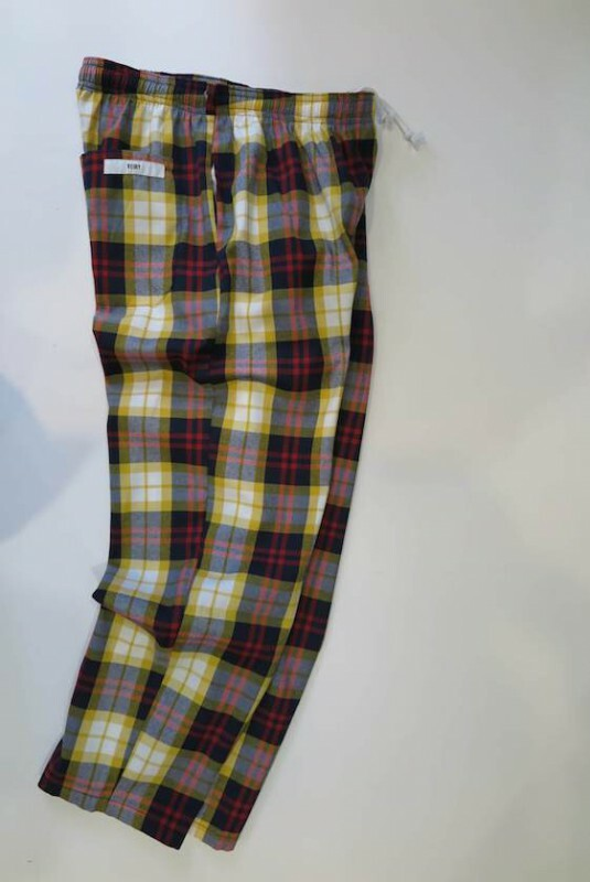 HOSPITAL PANTS-A  YEL/RED